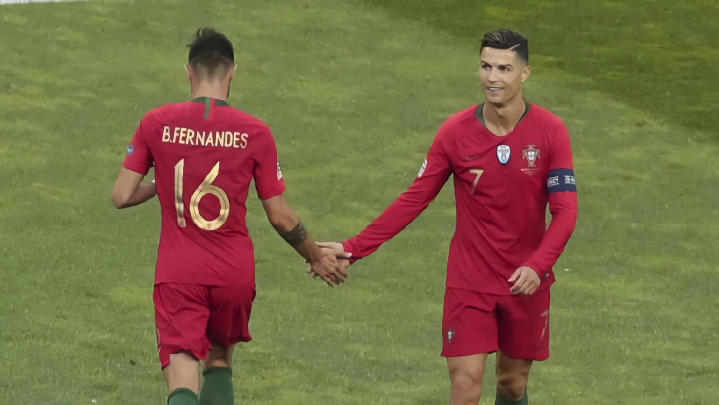 Ronaldo Positif Corona, Bagaimana dengan Bruno Fernandes?