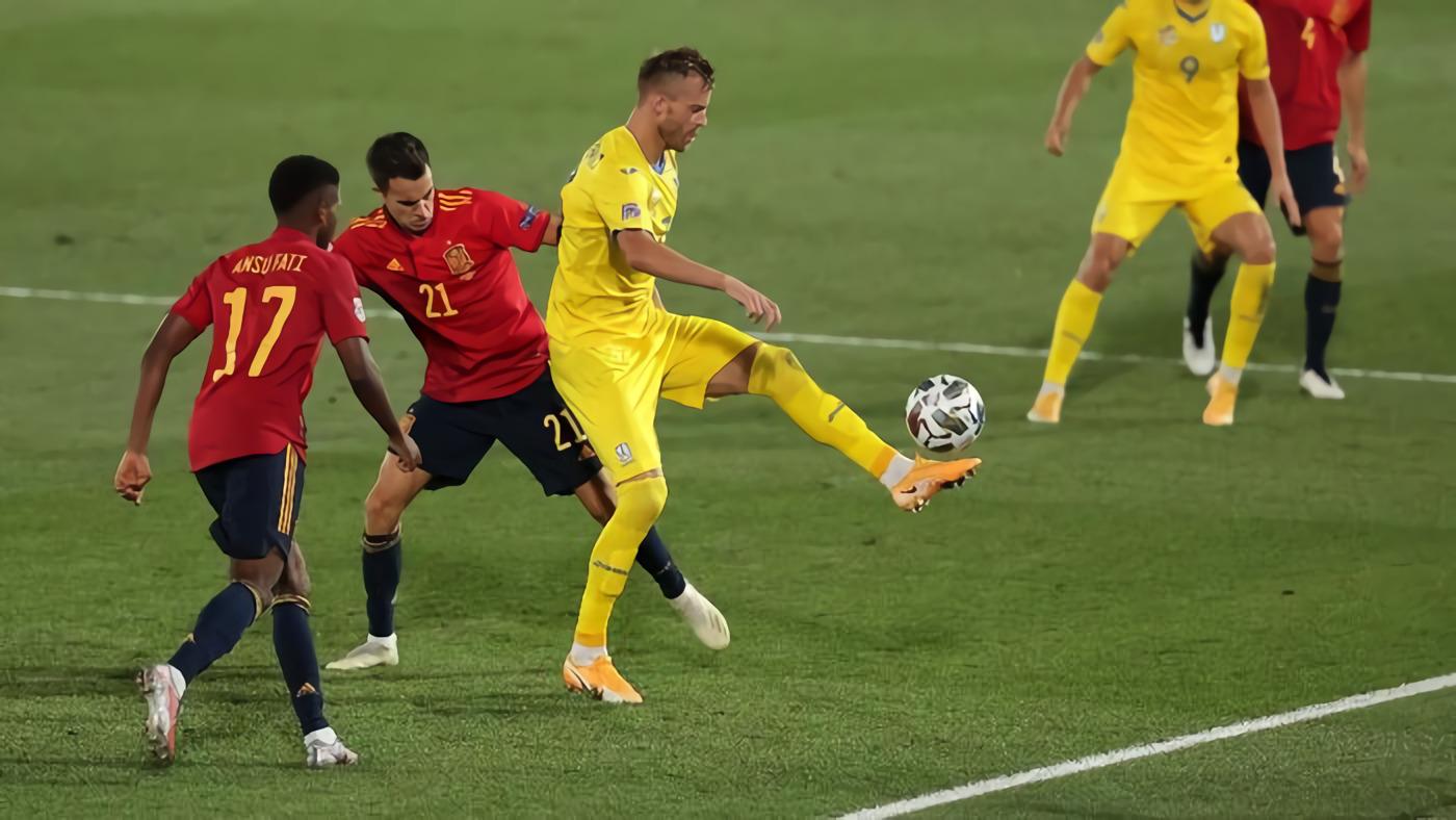 Ukraina Vs Spanyol: La Furia Roja Tumbang 0-1