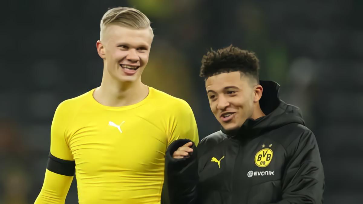 Erling Haaland: Jadon Sancho Akan Jadi Pemain Penting Untuk Borussia Dortmund Pada Musim Ini