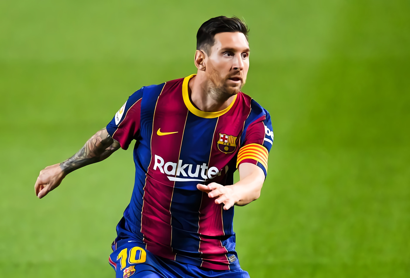 'Kalau Messi Pensiun, Mending Nonton Netflix'