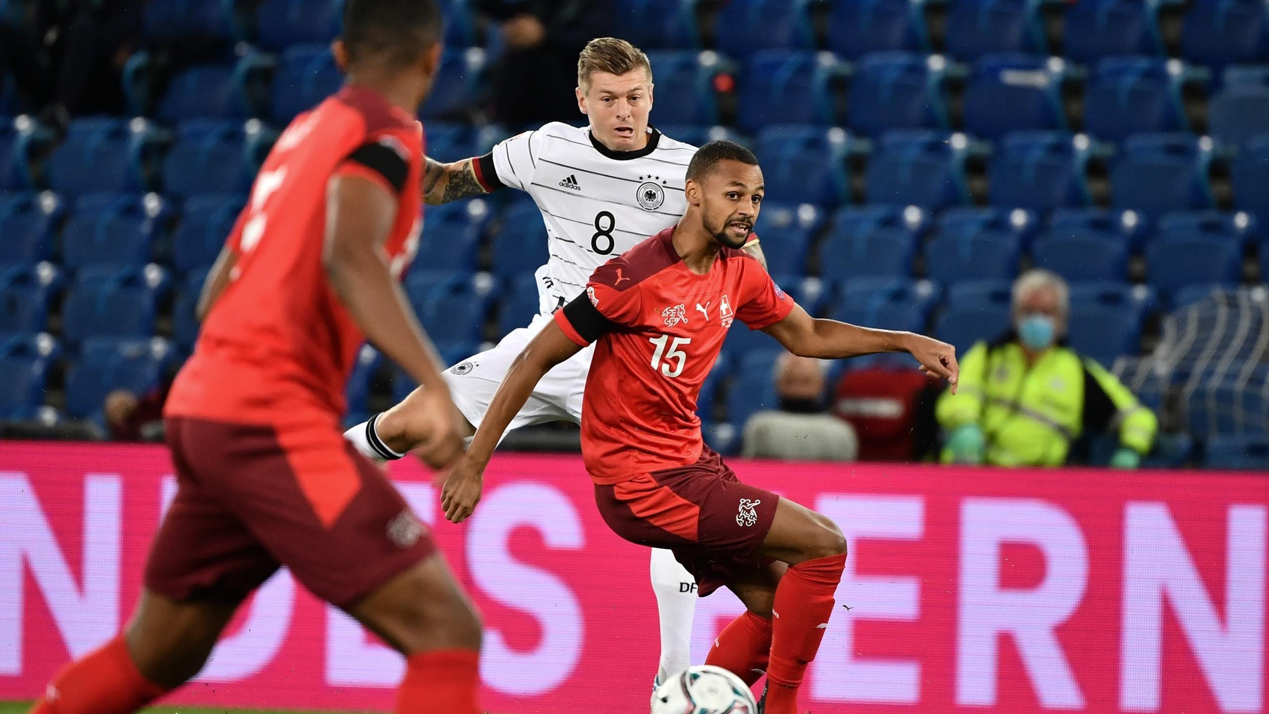 Jerman Ditahan oleh Swiss di Liga Negara UEFA