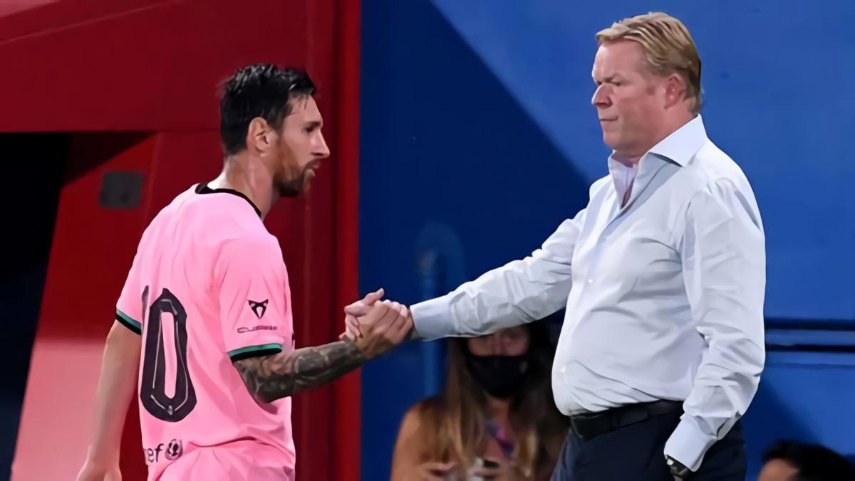 Lionel Messi Dinilai Tampil Lesu Sejak Gagal Tinggalkan Barcelona, Ronald Koeman: Dia Bahagia Kok!