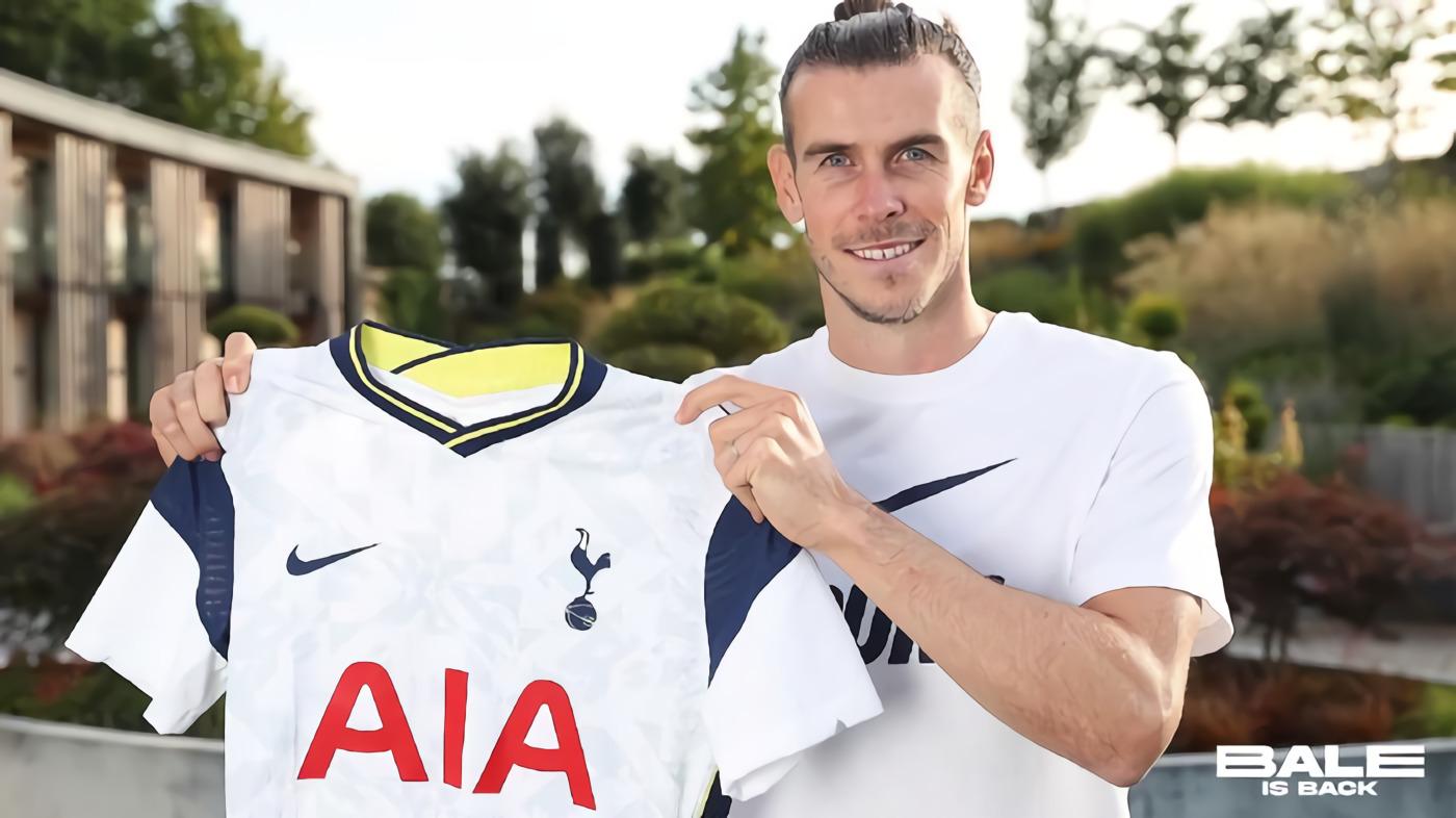 Resmi! Gareth Bale Akhirnya Pulang ke Tottenham