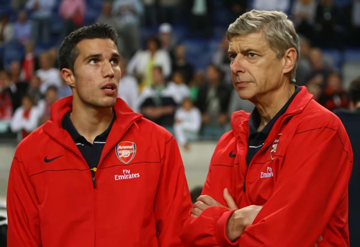 Arsene Wenger Sempat Tolak Keinginan Robin Van Persie Pulang Ke Arsenal