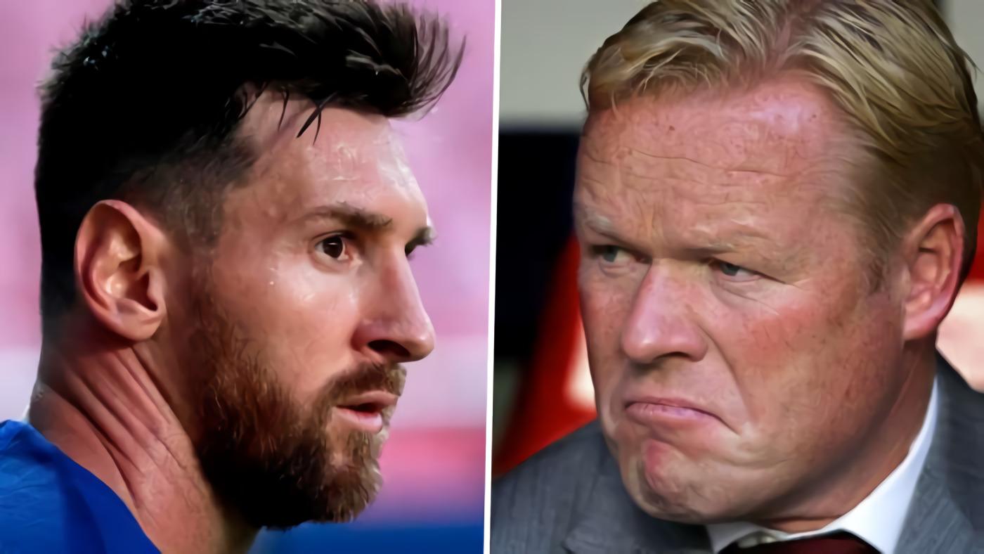 Ronald Koeman: Lionel Messi Konflik Dengan Barcelona, Bukan Saya