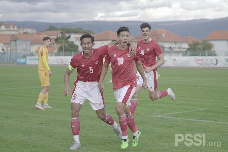 Timnas Indonesia U-19 Coba Taktik Baru Lawan Bosnia-Herzegovina