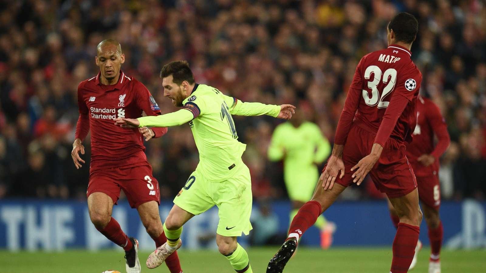 Usai Dibantai Liverpool 4-0, Joel Matip Lihat Lionel Messi Frustrasi
