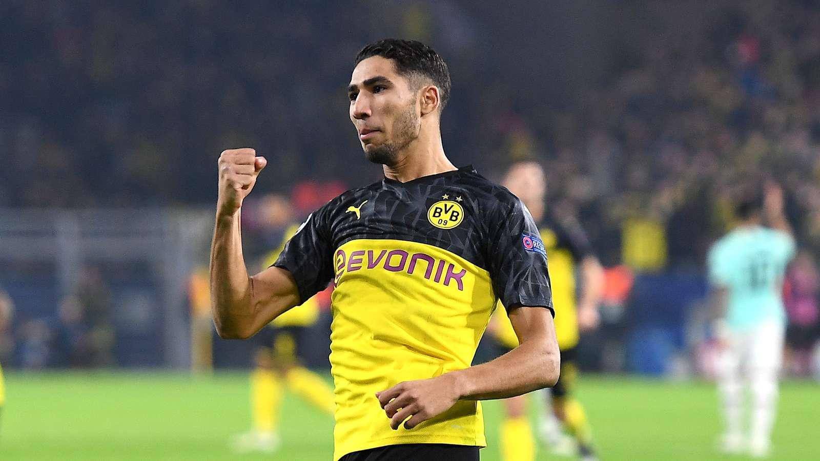 Moncer Di Borussia Dortmund, Real Madrid Akan Beri Peran Penting Achraf Hakimi Musim  …