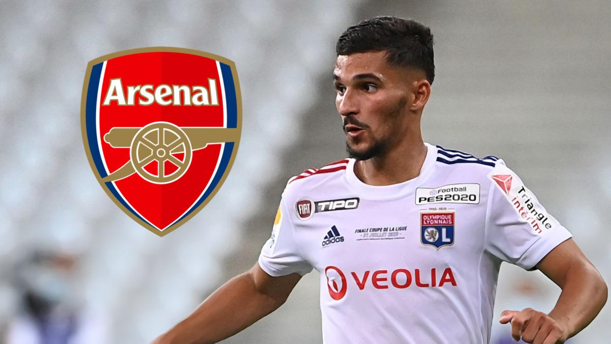 "Houssem Aouar ""Digantung"" Dua Pekan! Ternyata Arsenal & Gelandang Lyon Itu Sudah Capai Kesepakatan"