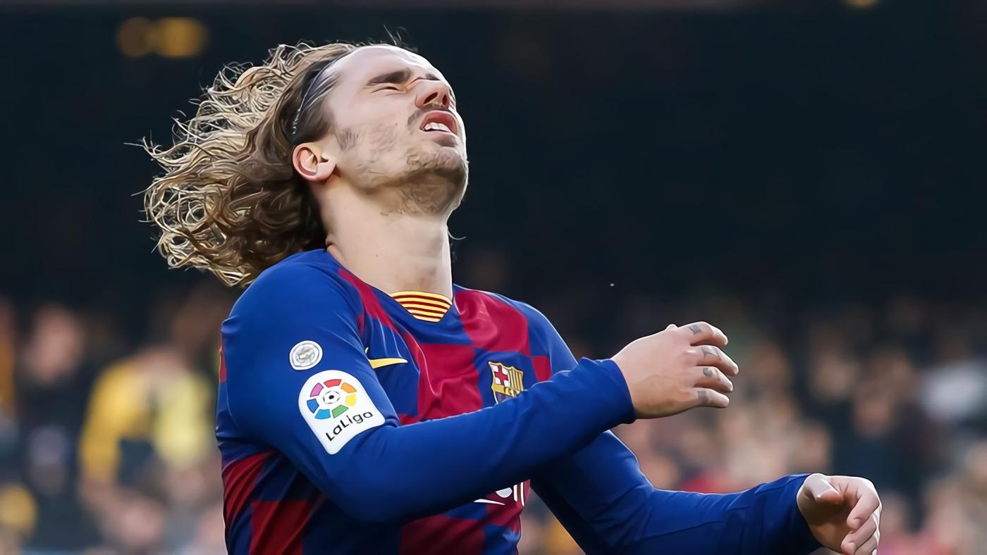 Pergilah dari Barcelona, Griezmann