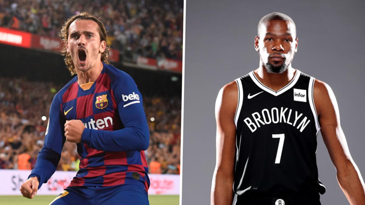 Antoine Griezmann Pakai No.7 Barcelona, Diumumkan Bintang NBA Kevin Durant