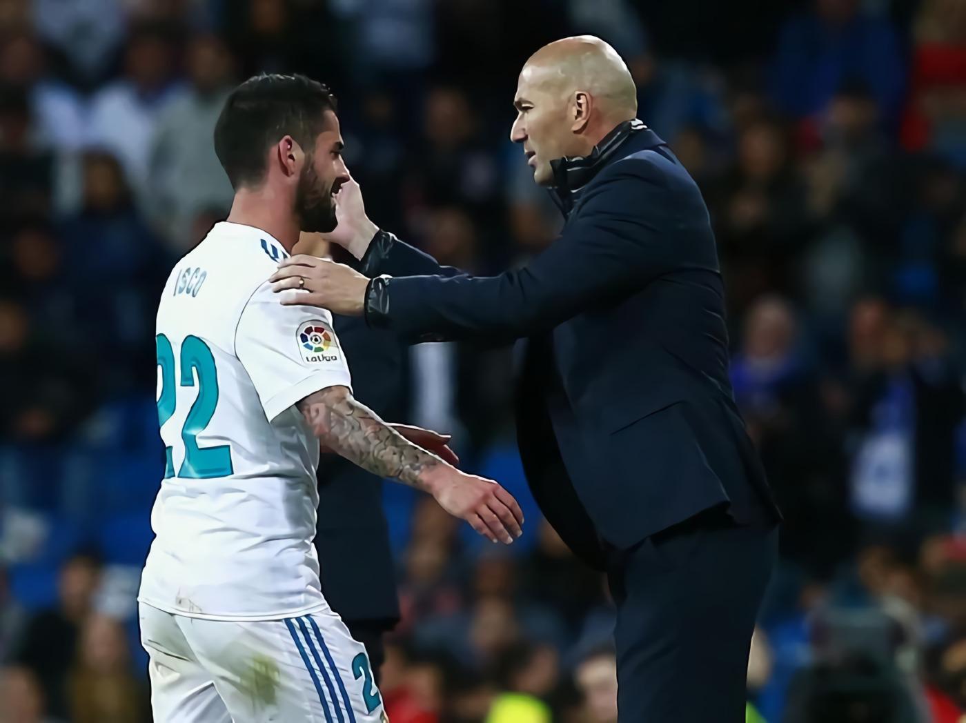 Zidane Buka Suara soal Isco