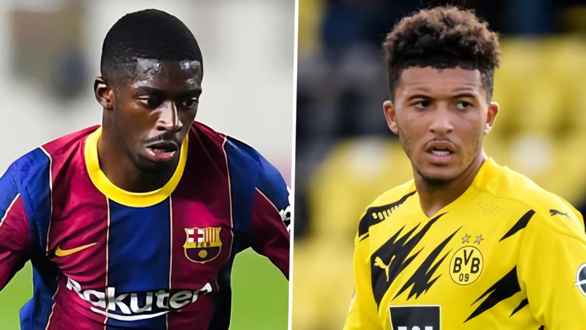 Manchester United Belum Tawar Jadon Sancho, Pertimbangkan Pinjam Ousmane Dembele Dari Barcelona