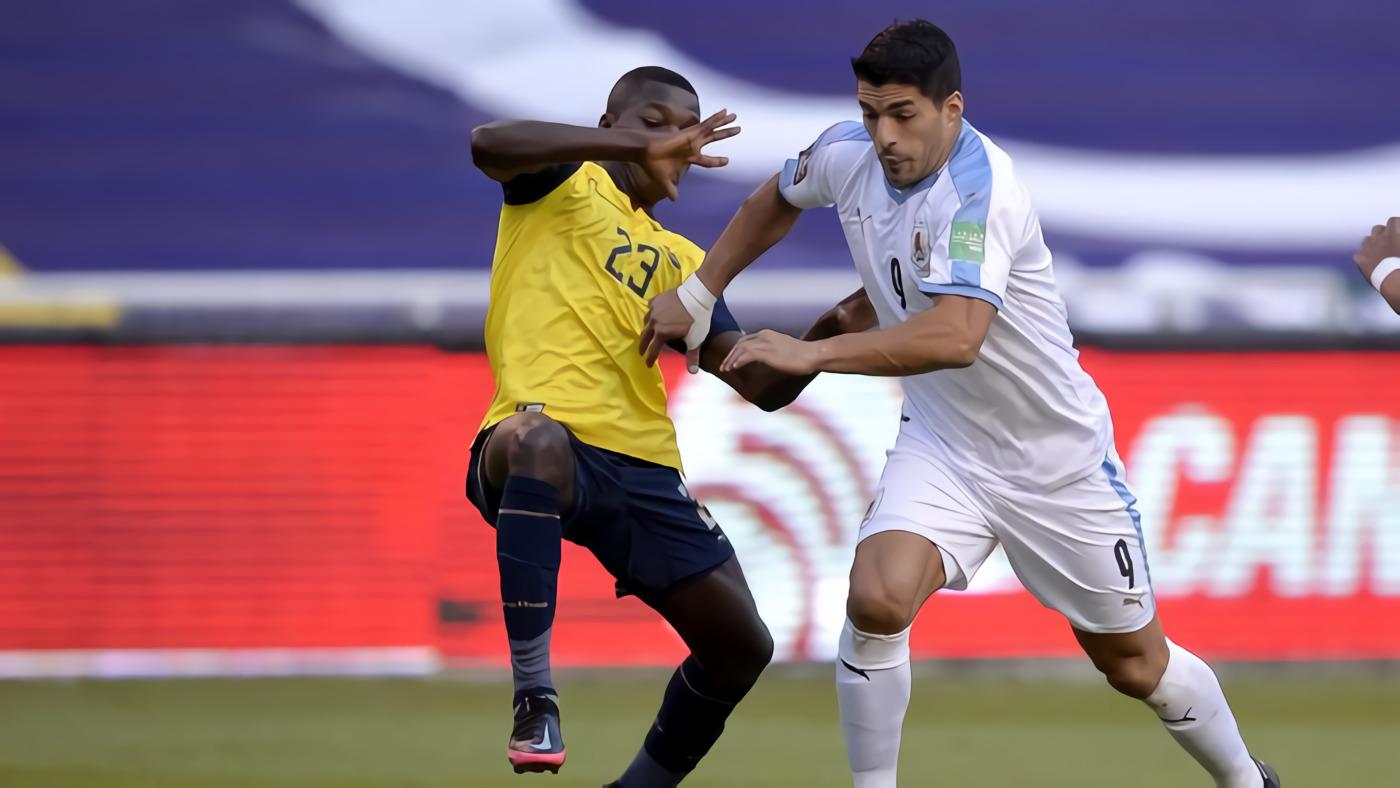 Uruguay Keok 2-4 dari Ekuador di Kualifikasi Piala Dunia 2022