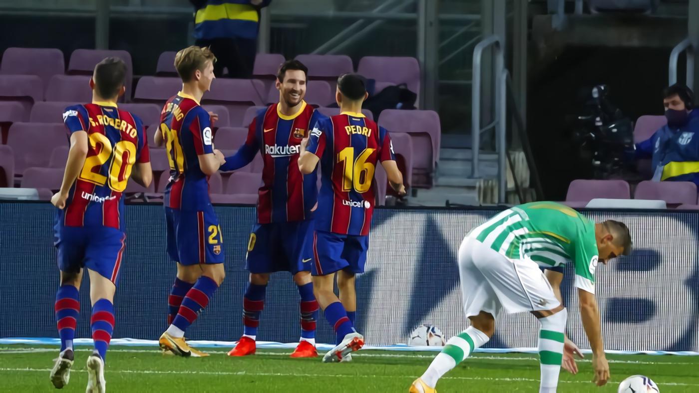 Barcelona Vs Betis: Messi Dua Gol, Los Cules Menang 5-2