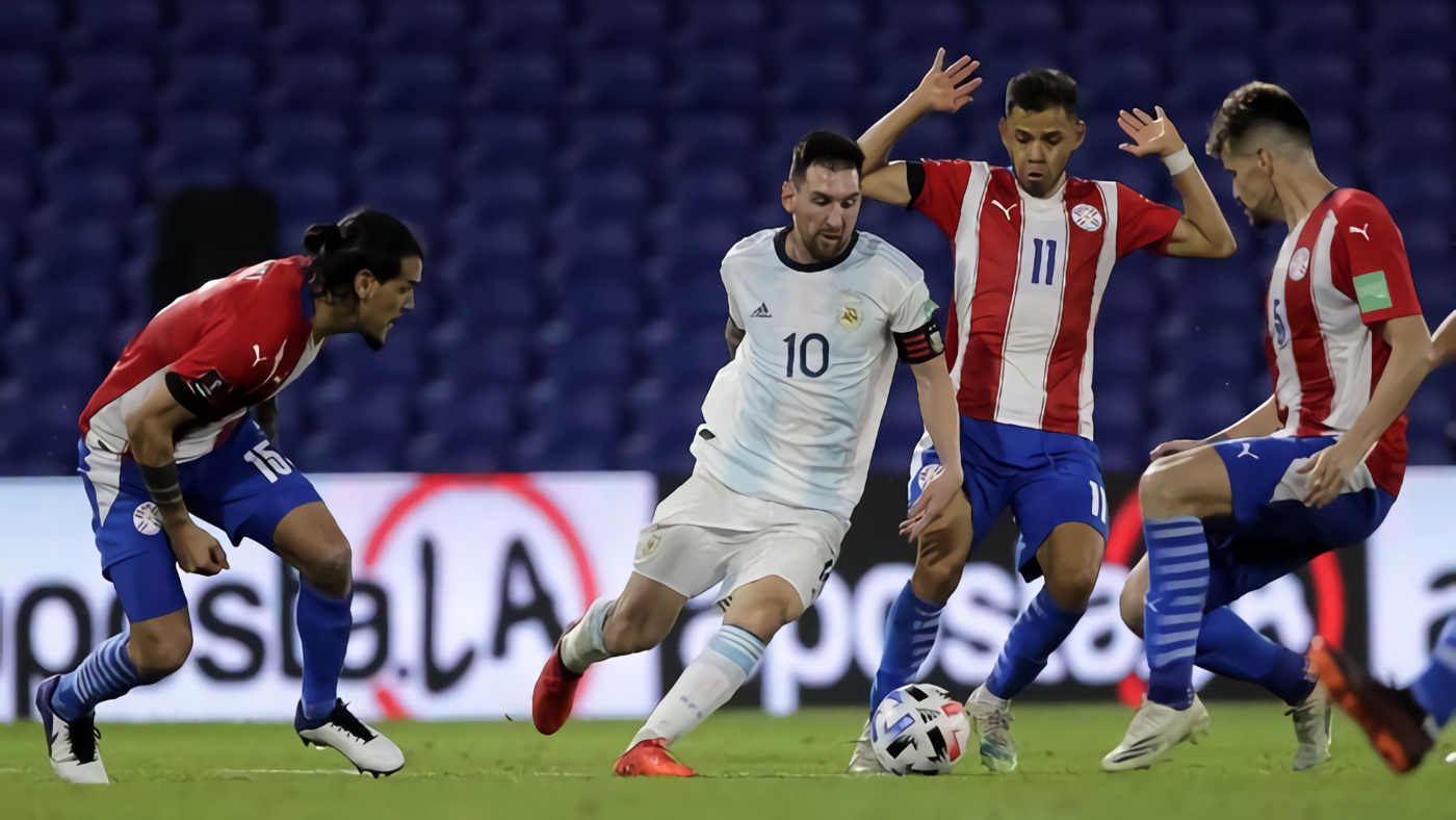Lionel Messi Tak Berdaya Hadapi Pemain Paraguay