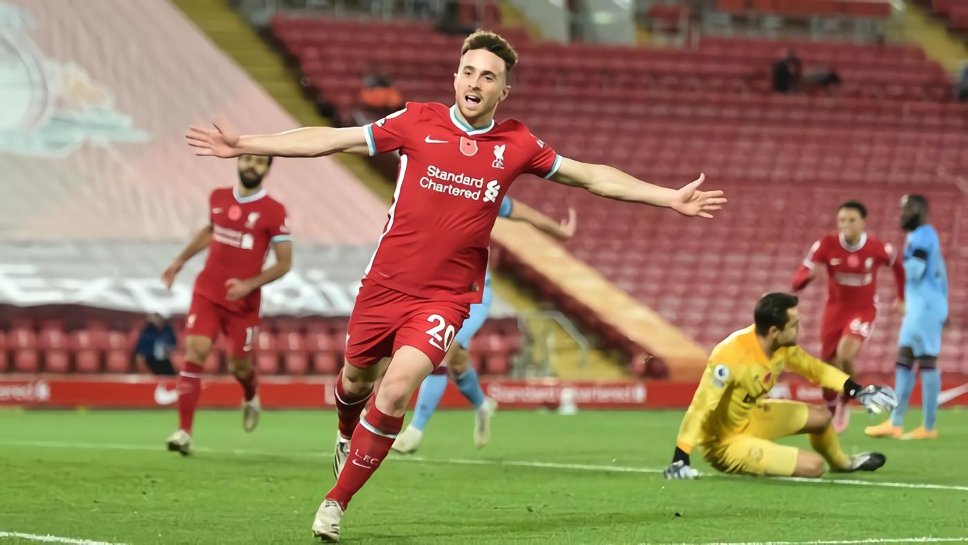 Liverpool Vs West Ham: Gol Diogo Jota Bawa The Reds Menang 2-1