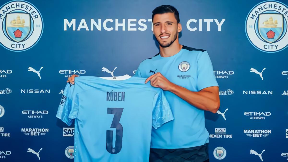 Manchester City Umumkan Transfer Ruben Dias