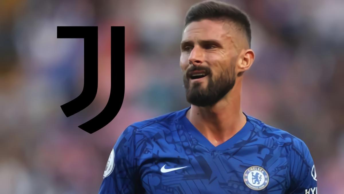 Striker Chelsea Olivier Giroud Sepakat Ke Juventus