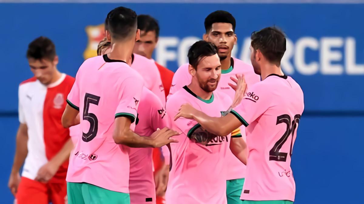 Lionel Messi Cetak Gol Perdana Barcelona Di Era Ronald Koeman