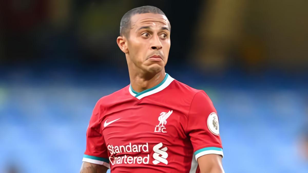 Bintang Liverpool Thiago Alcantara Positif Covid-19