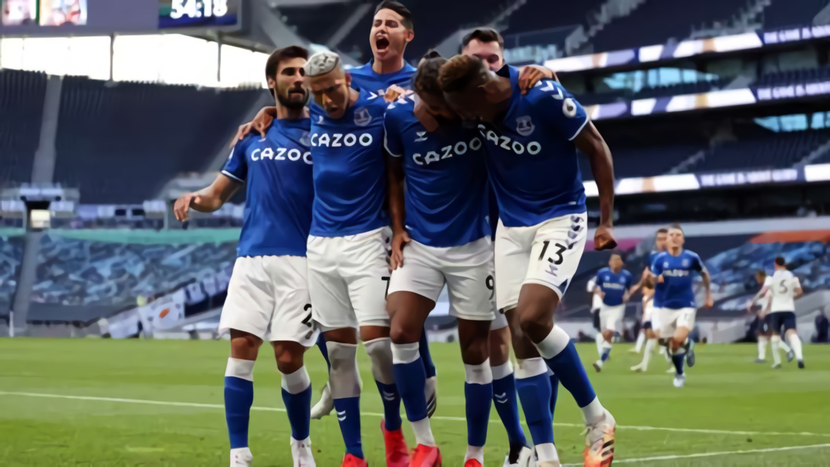 Calvert-Lewin Antar Everton Bungkam Tottenham dengan Skor 1-0