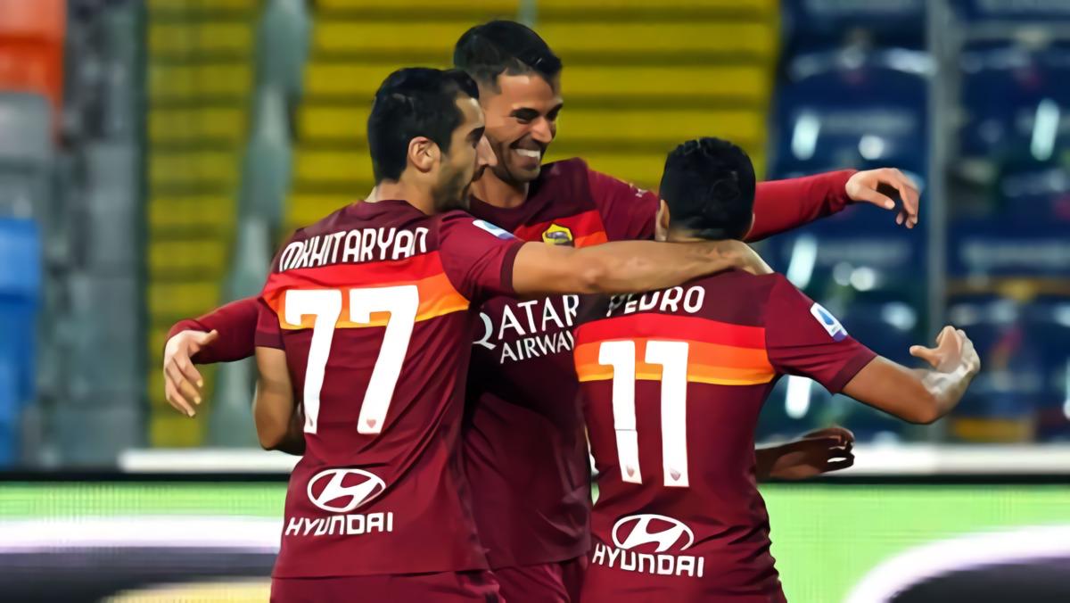 Pedro Pastikan Kemenangan AS Roma