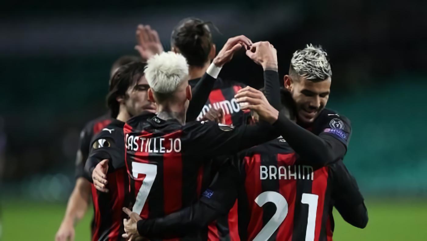 Hasil Liga Europa: AC Milan Tundukkan Celtic 3-1