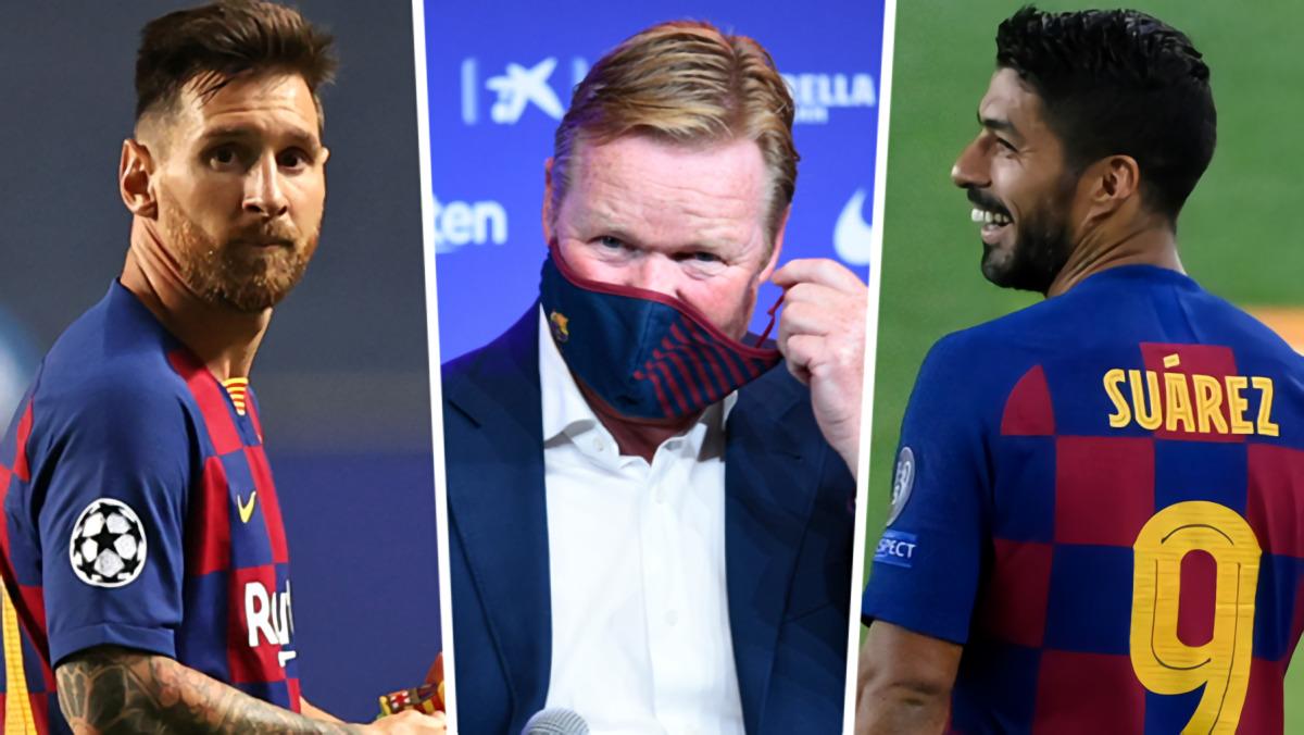 Walau Luis Suarez Bertahan Di Barcelona, Ronald Koeman Tetap Akan Bikin Dia Jarang Tampil