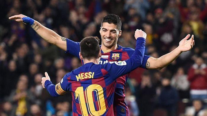 Luis Suarez, Sahabat Lionel Messi yang Terancam Didepak Barcelona