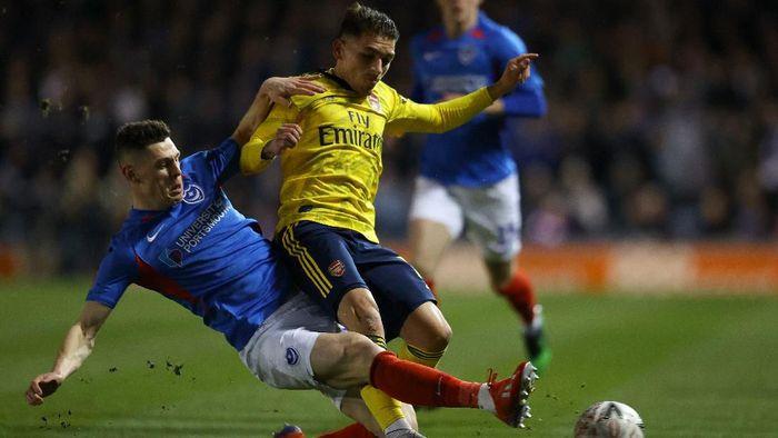 Arsenal Mengonfirmasi Lucas Torreira Alami Retak Pergelangan Kaki