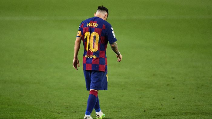 Messi Hentikan Negosiasi Kontrak Baru, Mau Tinggalkan Barca?