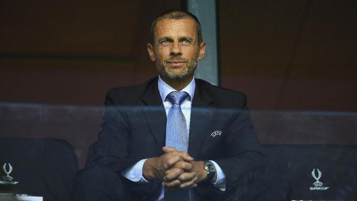 Presiden UEFA Optimistis Serie A Musim Ini Bisa Selesai