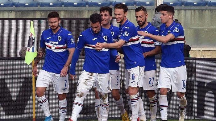 Sampdoria Diserang Corona Lagi, Empat Pemain Positif COVID-19