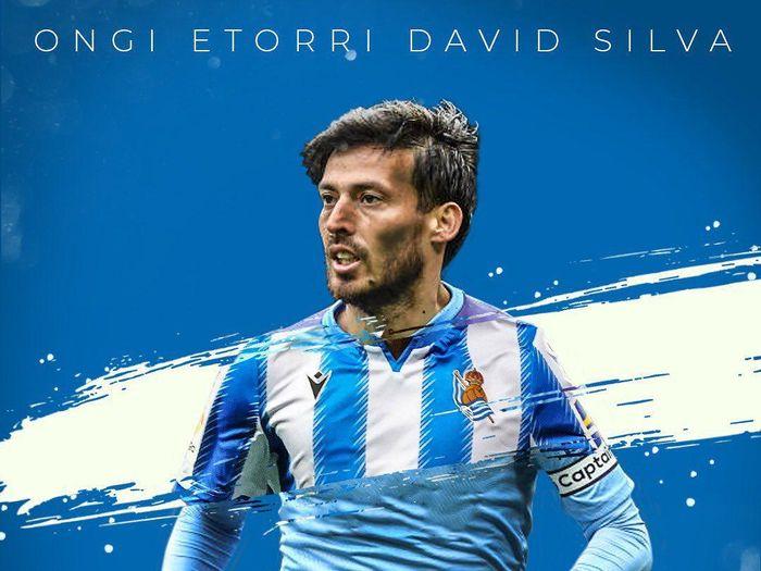 Batal ke Lazio, David Silva Resmi Gabung Real Sociedad!