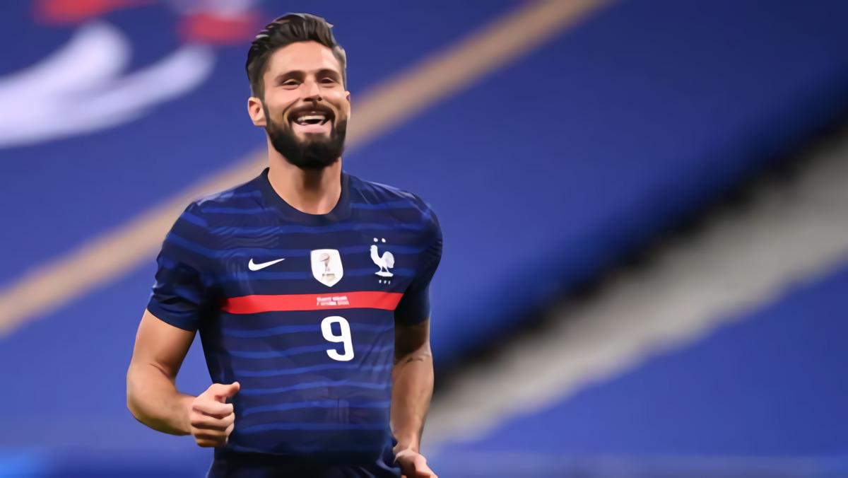 Cadangan Chelsea Olivier Giroud Sukses Lewati Rekor Michel Platini Di Timnas Prancis