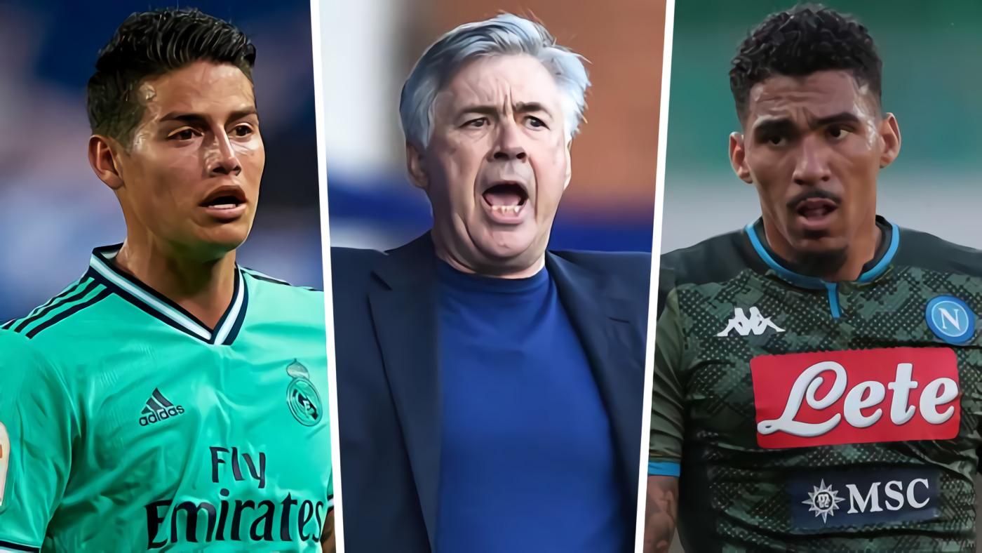 James Rodriguez, Allan & Carlo Ancelotti: Sanggupkah Wajah Baru Everton Tembus Enam Besar Liga Primer Inggris?