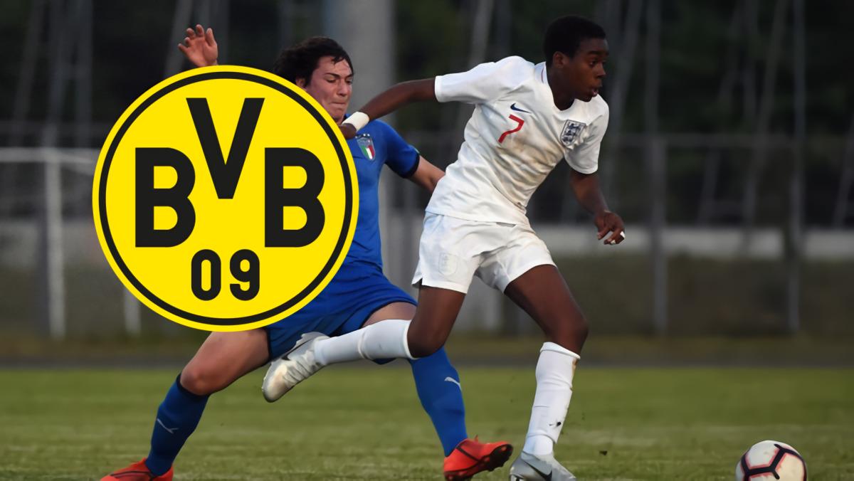 Borussia Dortmund Segera Resmikan 'The Next Jadon Sancho' Dari Manchester City