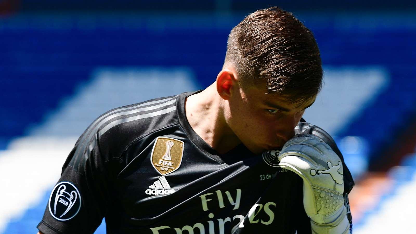 Andriy Lunin: Saya Akan Jadi Kiper Utama Madrid!