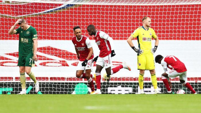 Arsenal Vs Sheffield: The Gunners Menang Tipis