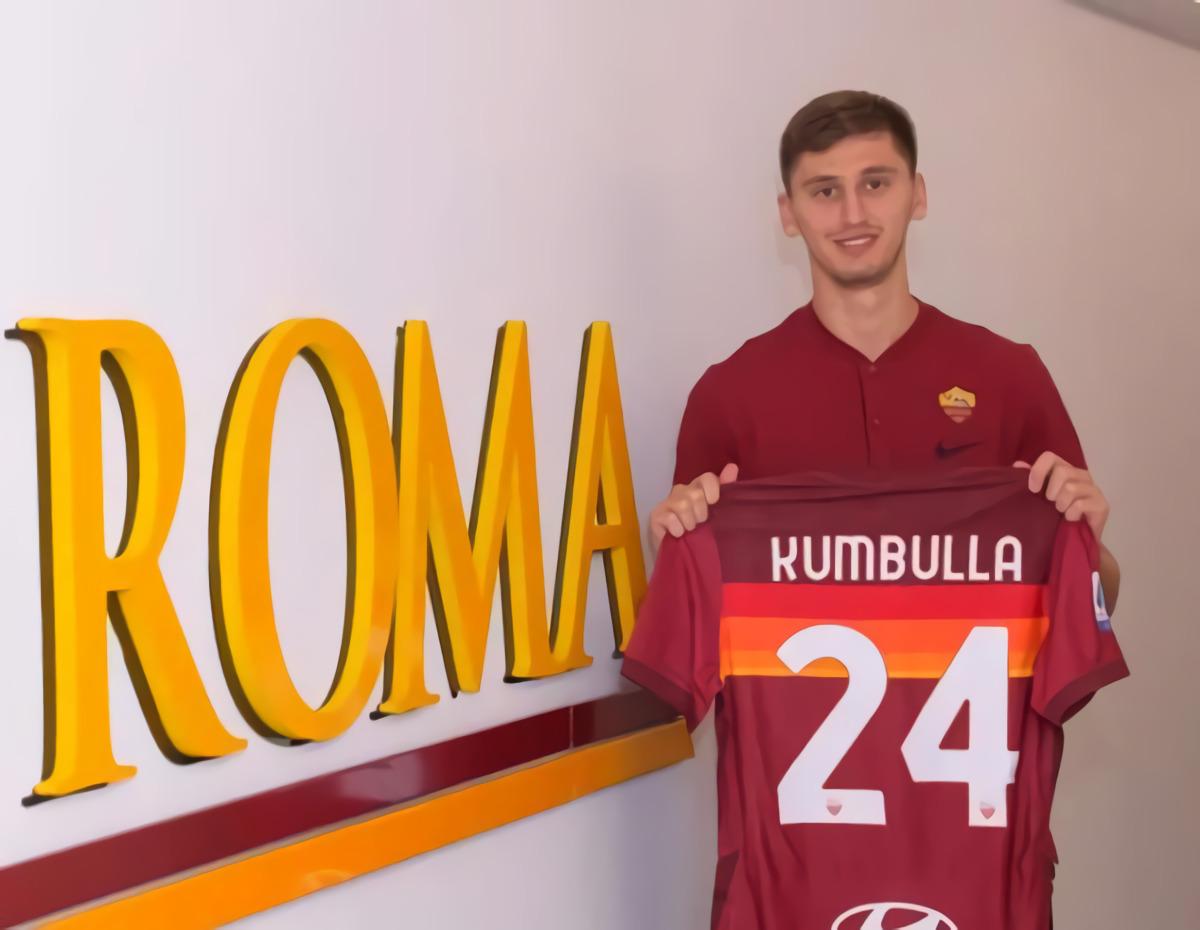 RESMI: Incaran Manchester United Marash Kumbulla Mendarat Di AS Roma