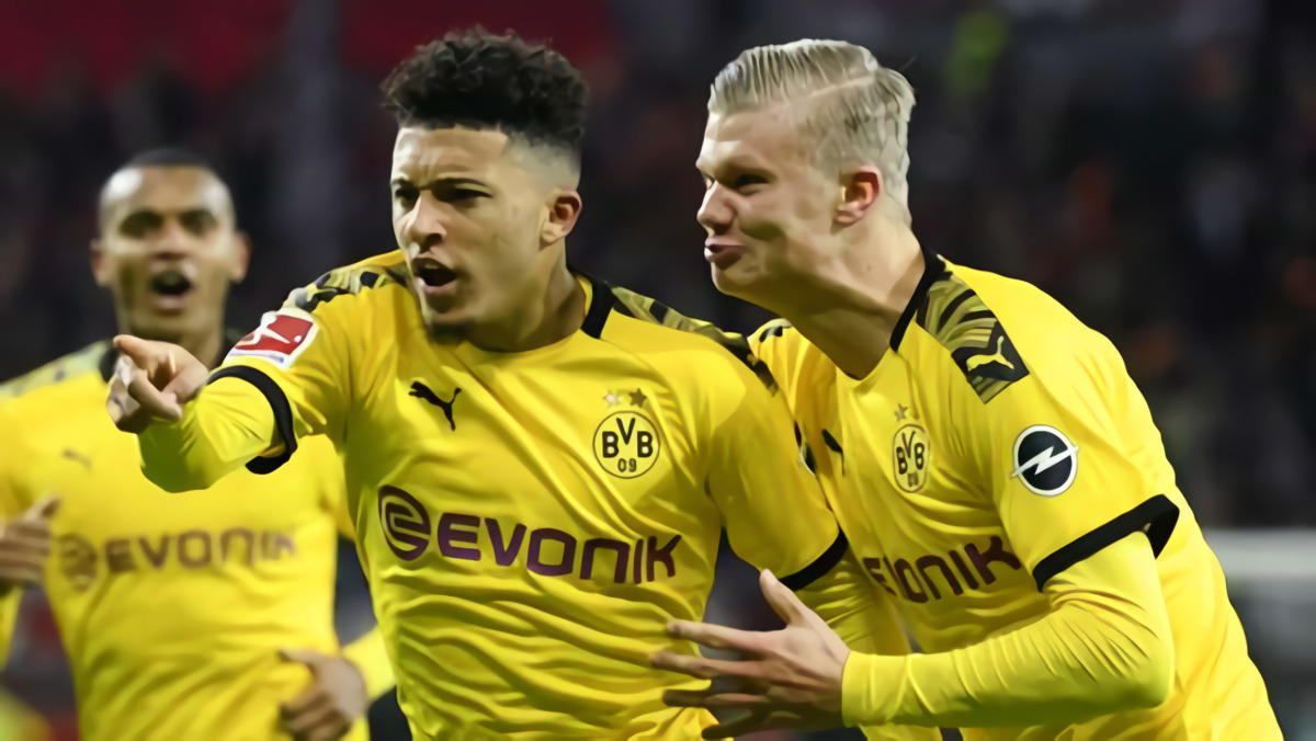 Jadon Sancho & Erling Haaland Masuk Nominasi Final Golden Boy 2020