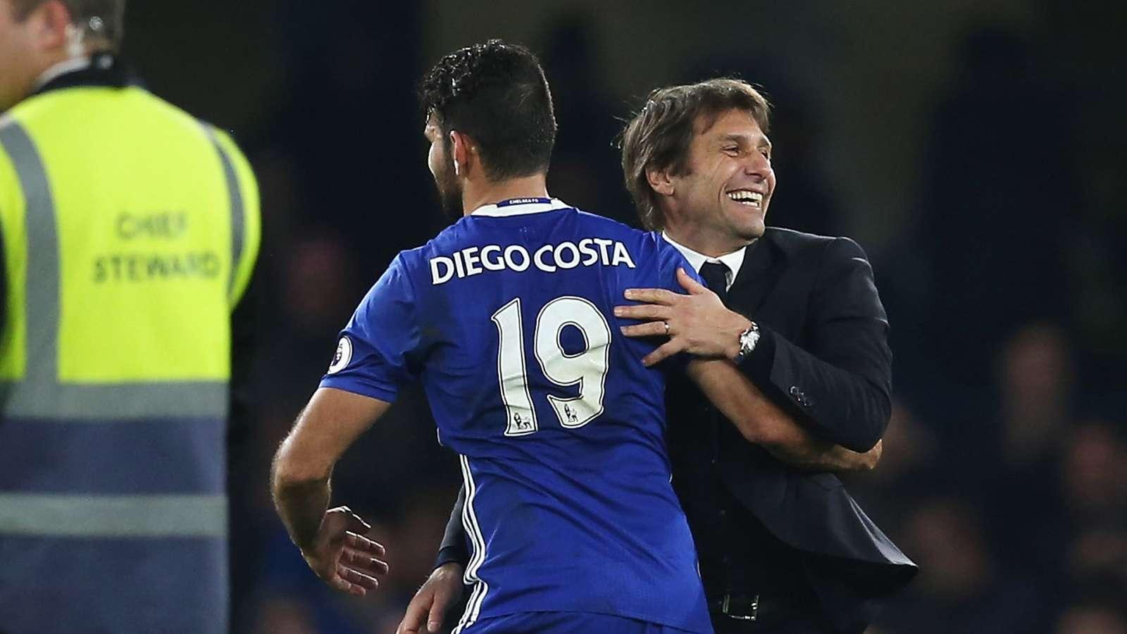 Diego Costa: Antonio Conte Tak Akan Sanggup Latih Real Madrid Semusim