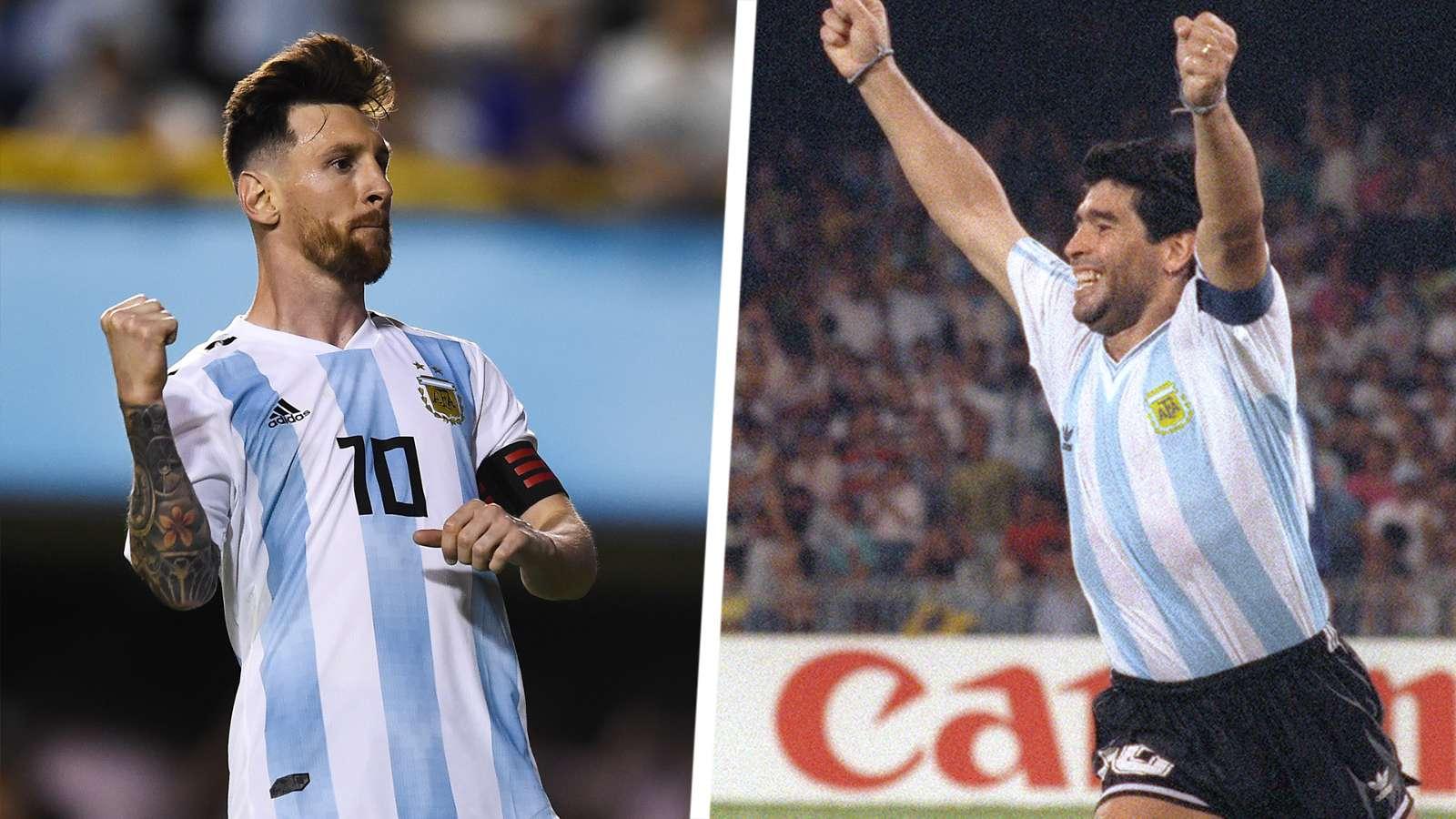 Antonio Cassano: Lionel Messi Lebih Hebat Ketimbang Diego Maradona