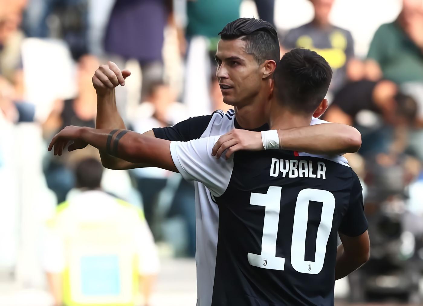 Cristiano Ronaldo 'Redupkan' Paulo Dybala
