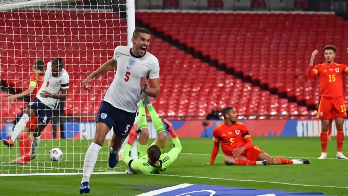 Conor Coady Kaget Cetak Gol Untuk Timnas Inggris