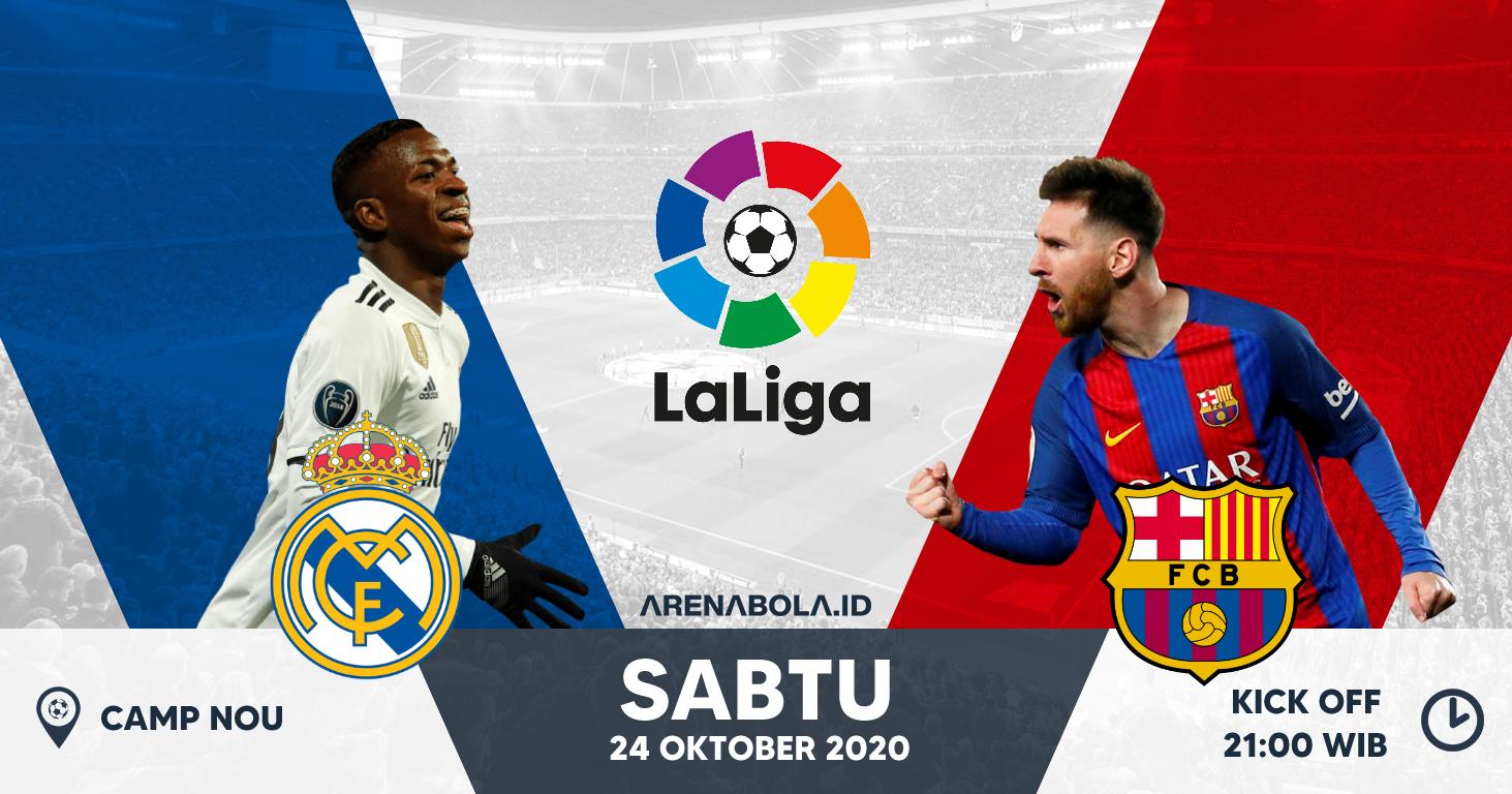 [El Clasico] Prediksi Real Madrid vs Barcelona 24 Oktober 2020