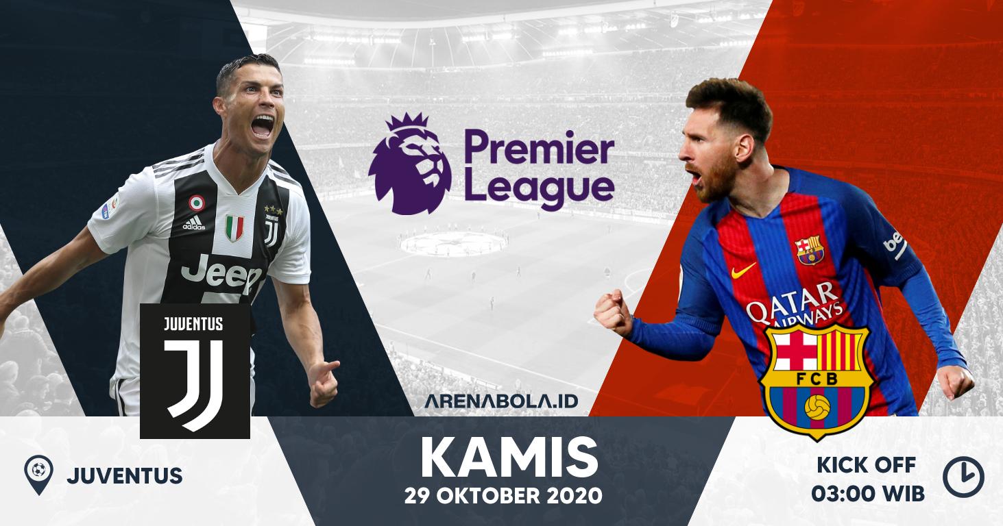 Prediksi Juventus Vs Barcelona 29 Oktober 2020 Arenabola