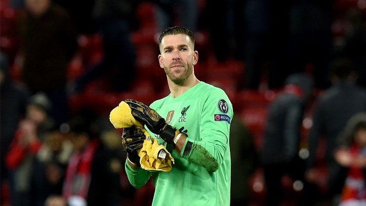 Jadi Badut Liverpool di Liga Champions, Adrian Ternyata Pernah Cetak Gol Kelas Dunia