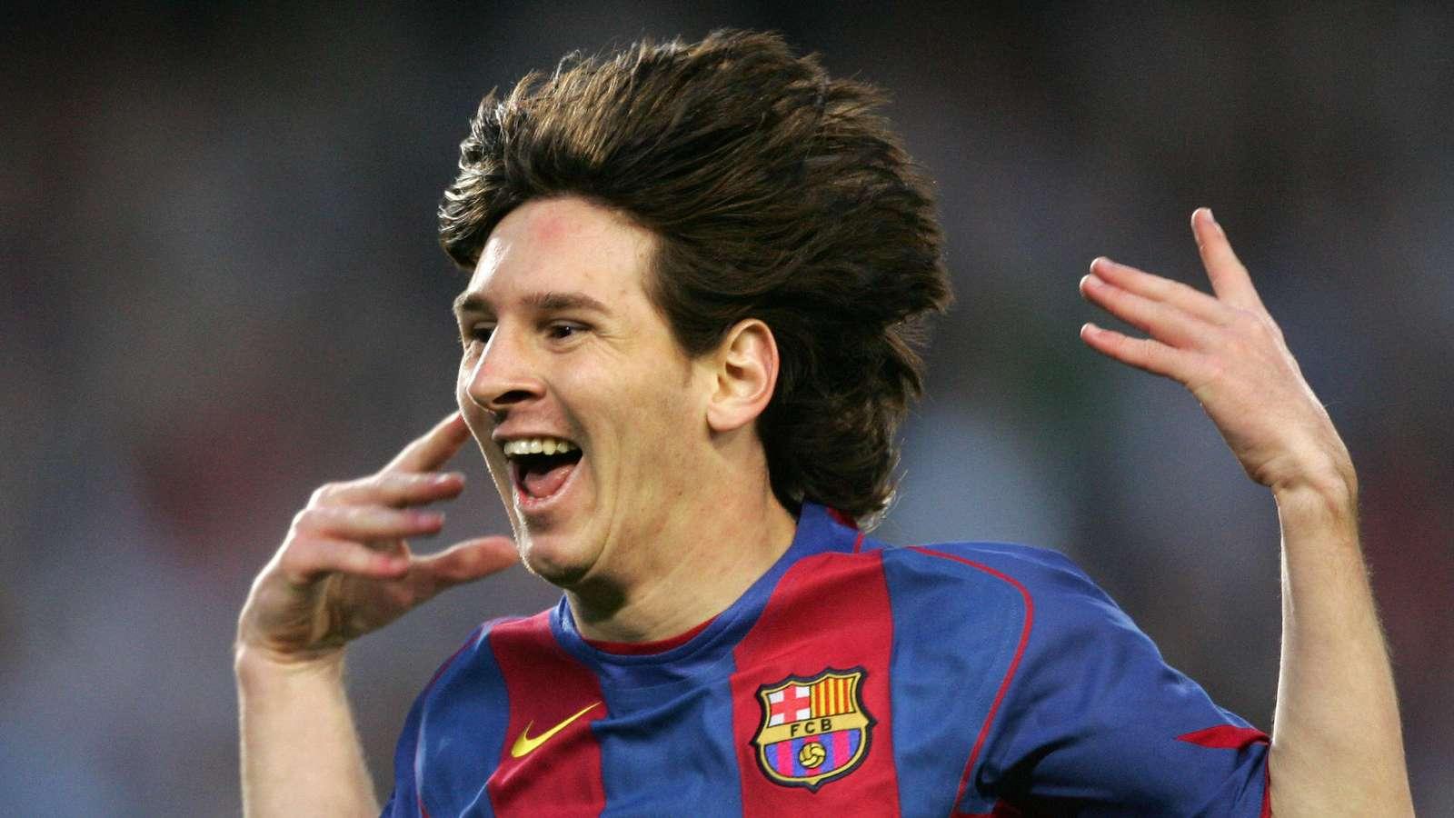 Ledakan Pertama Lionel Messi